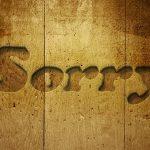 英語で「申し訳ありませんが」をスマートに言い分けたい!